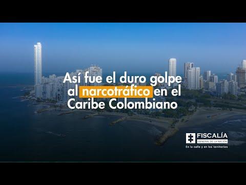 Así fue el duro golpe al narcotráfico en el Caribe colombiano