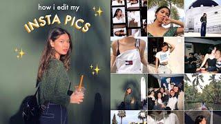 HOW I EDIT MY INSTAGRAM PHOTOS (golden Hour Glow Effect)