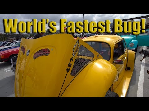 World's Fastest VW Bug Punch Buggy