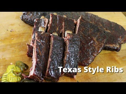 Texas Style Ribs   Recipe for Smoking Ribs from Malcom Reed