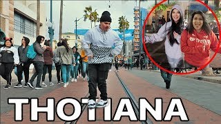 BLUEFACE THOTIANA DANCE CHALLENGE at DISNEYLAND! *MUST WATCH*