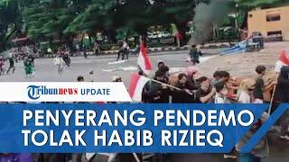 Fakta Sosok Penyerang Demonstran Penolak Rizieq di Makassar, Mulai Bawa Panah hinnga Air Keras