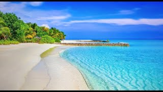 Ocean Waves Sounds Music~Restoring~Relaxing~Stress Relief~Soothing~Spa~Meditation Music.432Hz.