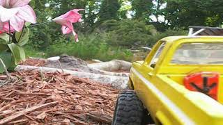 Fpv cam on the scx24 is a blast