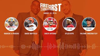 First Things First Audio Podcast(8.15.19) Cris Carter, Nick Wright, Jenna Wolfe | FIRST THINGS FIRST