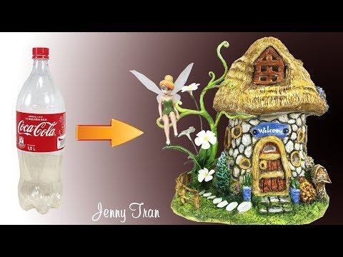 DIY Fairy House Lamp Using Plastic Bottles | Craft Ideas |