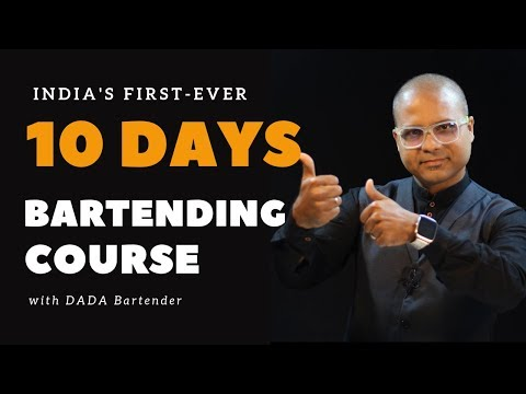 10 Days Bartending Course With Dada Bartender | Bartending Course just for 10 Days | Dada Bartender