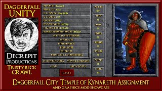 Daggerfall Unity - Tristyrick Dungeon Crawl and Graphics Mod showcase