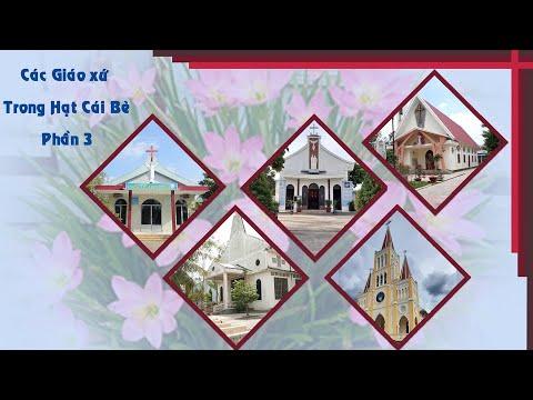 60 năm GPMT: Các Gx:  Xoài Mút, Hòa Hưng, Cai Lậy, Vĩnh Kim, và Kinh Gãy