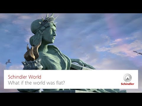 What if the world was flat?