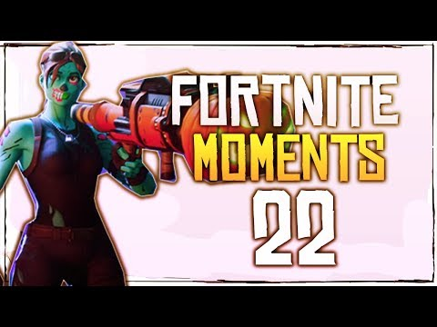 Fortnite Battle Royale WTF & Funny Moments Episode. 22