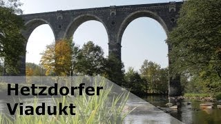 preview picture of video 'Wanderungen bei Eppendorf Teil 3: Das Hetzdorfer Viadukt'