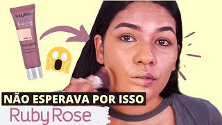 Resenha nova base Feels Ruby Rose