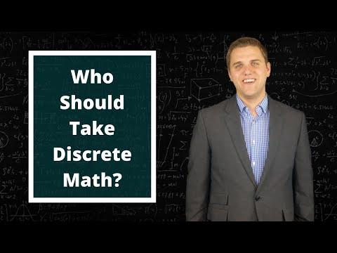 Who Should You Take Discrete Math? - YouTube