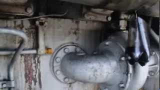 Тепловоз ТЭМ2 после ремонта. под нагрузкой на  VII позиции