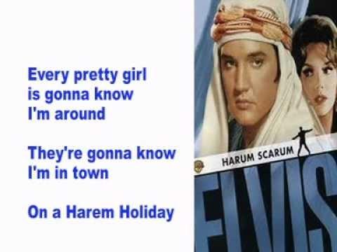 Elvis Presley- Harem Holiday- Cover With Lyrics (Pattarasila59)