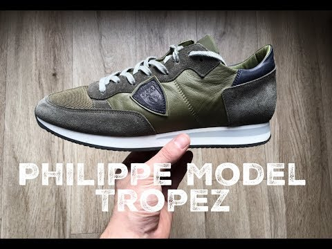 Philippe Model Tropez ˋhunter green´ | UNBOXING & ON FEET | luxury shoes | 2017 | HD