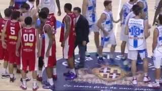 preview picture of video 'Banco di Sardegna Dinamo Sassari vs Consultinvest Basket Vuelle Pesaro 17-11-2014'