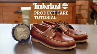 Timberland | Boat Shoes Cleaning Tutorial