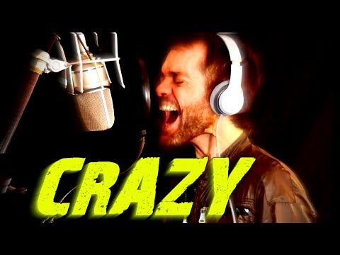 Crazy - Aerosmith - Cover - Gaston Jauregui - Ken Tamplin Vocal Academy