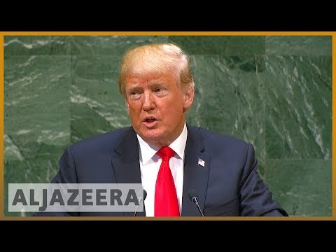 🇺🇸 🇺🇳 Trump at UNGA: US rejects globalism, embraces patriotism | Al Jazeera English