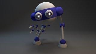 Создание робота, rig  6 урок