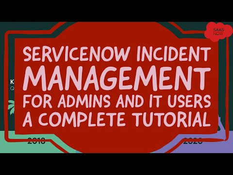 #1 #ServiceNow #Incident Management   A Complete Tutorial for ...