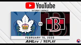 AHL Replay: Comeback at the CCC