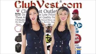ClubVest.com  Best Dual CCW MC Leather & Denim Motorcycle Vests Jackets Chaps Helmets & Gear