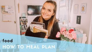 HOW TO MEAL PLAN - SIMPLE MEAL PLANNING