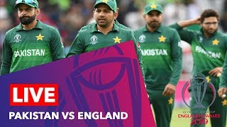 Live Pakistan Vs England World Cup 2019 | Match 6 | Live Score Commentary | Cricket | ICC