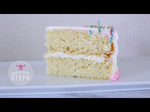 Video HOW TO MAKE VANILLA CAKE BATTER - BASIC RECIPE