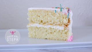 HOW TO MAKE VANILLA CAKE BATTER || Easy Vanilla Cake Recipe