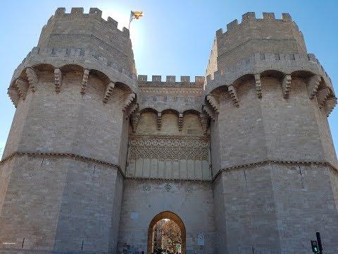 Torres de Serranos Valencia 360 grados video 3D videos