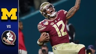Florida State vs. Michigan Orange Bowl Highlights (2016)