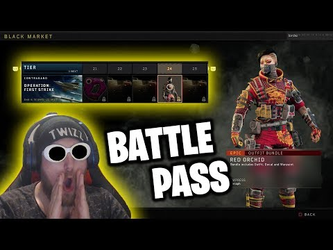 NEW! Call Of Duty: Black Ops 4 ( BATTLE PASS & SUPPLY DROPS ) Reserves, first strike, blackout, TwZz