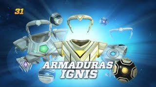 WIKISEN / 31 / Armaduras Ignis