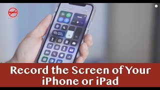 iOS Screen Recording – Record What You Are Doing On Your iPhone and iPad
