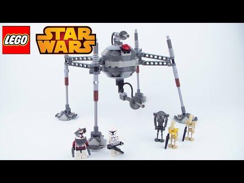 Vidéo LEGO Star Wars 7681 : Separatist Spider Droid