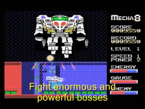 Mecha-9 for Colecovision (supports Super Game Module sound