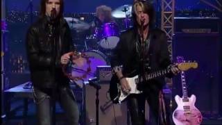 The Joe Perry Project @ David Letterman (Dec. 11th, 2009)