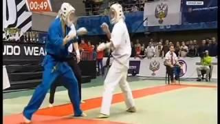 Шавкат Ишпулатов   Евгений Ибрагимов ЧР по КУДО 2016 полуфинал