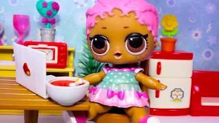 Куклы ЛОЛ Питомцы Мультики Шоу #ПОНИ В ГОСТЯХ! РАСПАКОВКА LOL Surprise Видео для Детей с Игрушками