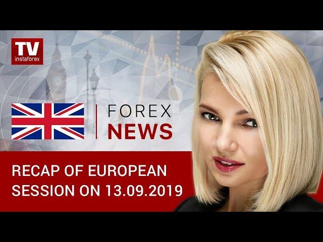 13.09.2019: Will US statistics curb dollar's fall? (EUR, GBP, CHF, GOLD)
