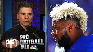PFT Overtime: Examining the Odell Beckham Jr. trade, Le'Veon Bell's new deal   NBC Sports