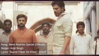 tere raste qamar nusrat fateh ali khan Raees || Mere Rashke Qamar Tu Ne Pehli Nazar (Remix)