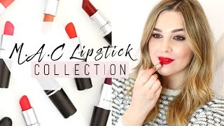 MAC Lipstick Collection & Swatches! | I Covet Thee