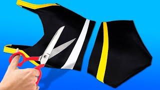 Clothes Shredding Designs || 20 Clothing Hacks And DIY Upgrades