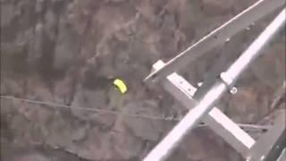 Death of BASE Jumper Dwain Weston -- Slammed Full Speed Into a Bridge