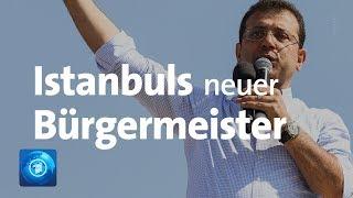 Oppositionspolitiker Imamoglu gewinnt Bürgermeisterwahl in Istanbul